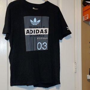 Adidas 2XL Black T Shirt